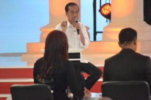Jokowi debat