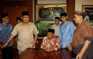 Prabowo Sandi ke PBNU