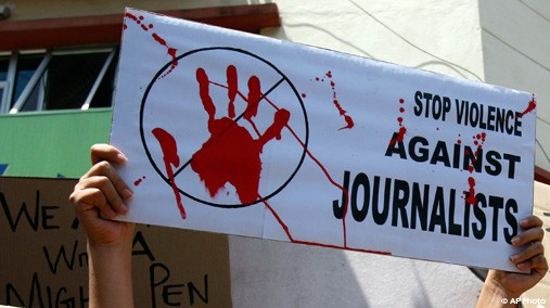 stop violence against journalists