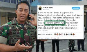 andika perkasa cari letkol TNI AD pembisik RR