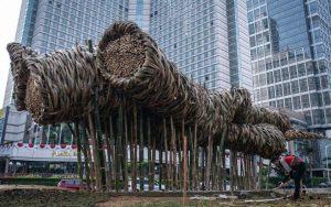 Instalasi Bambu