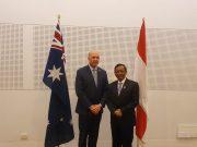 Mahfud MD dan Peter Dutton