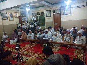 Konferensi pers aksi bela uighur