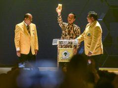 Jokowi di Golkar