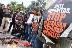 Stop kekerasan terhadap jurnalis