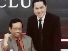 Mahfud dan Erick Thohir