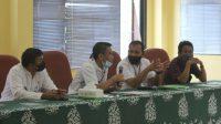 Rapat di Duren Sawit